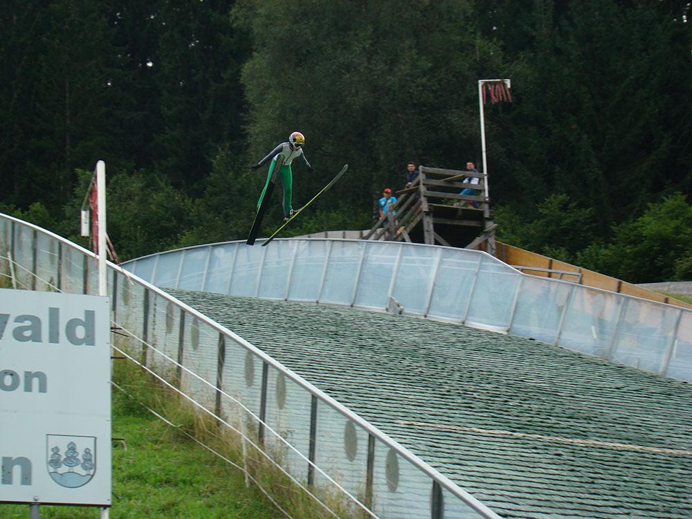 Feyrsinger Alexander - Training Saalfelden 60 m Schanze