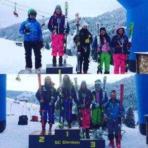 CIT FIS Rennen Dienten