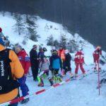 Schüler Bezirkscup Slalom - Hausberg Waidring - 6. Jänner 2018 - Laufvorbereitungen