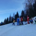 Schüler Bezirkscup Slalom - Hausberg Waidring - 6. Jänner 2018 - Start
