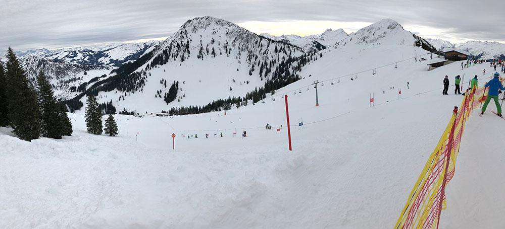 Kinder Bezirkscup Skicross Westendorf 2018 - Panorama