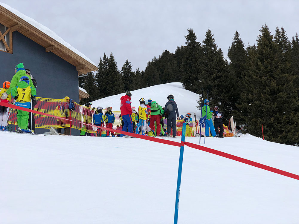 Kinder Bezirkscup Skicross Westendorf 2018 - Start
