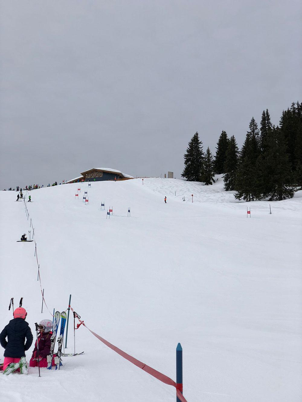 Kinder Bezirkscup Skicross Westendorf 2018 - Slalomabschnitt