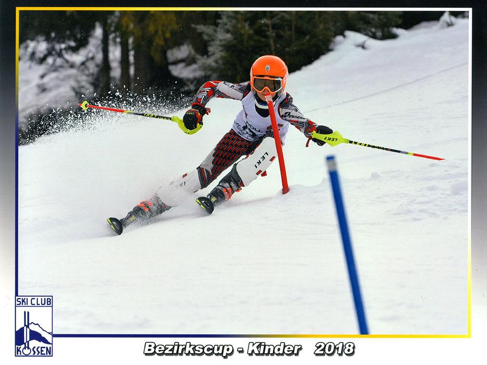 Seisl Pauli - Bezirkscup Kössen Slalom 2018