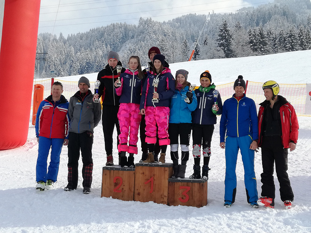 Schüler Bezirksmeisterschaft & Bezirkscup Oberndorf - RTL - 3. Februar 2018