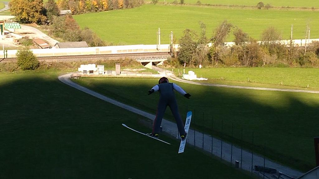Feyrsinger Alexander - Saalfelden Training 60m Schanze