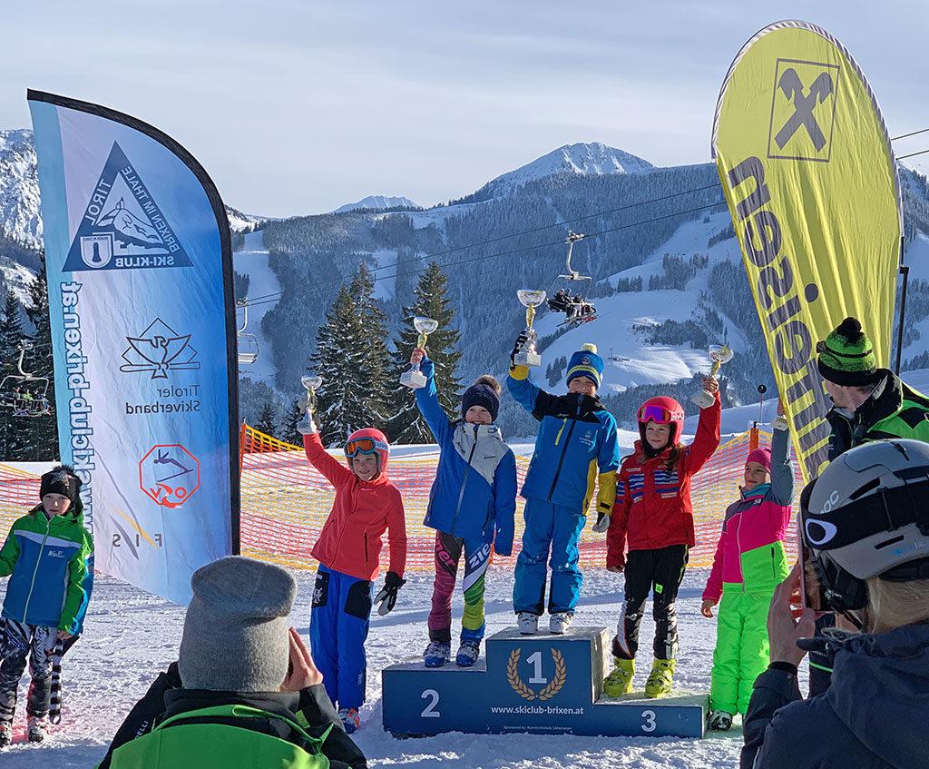 Kinder Bezirkscup - Cross - Brixen - Preisverteilung Kinder U9