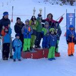 Schülerschitag Waidring 2019 - Kindergarten Jungs