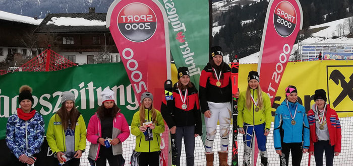 Tiroler Meisterschaften Slalom - Alpachtal - März 2019